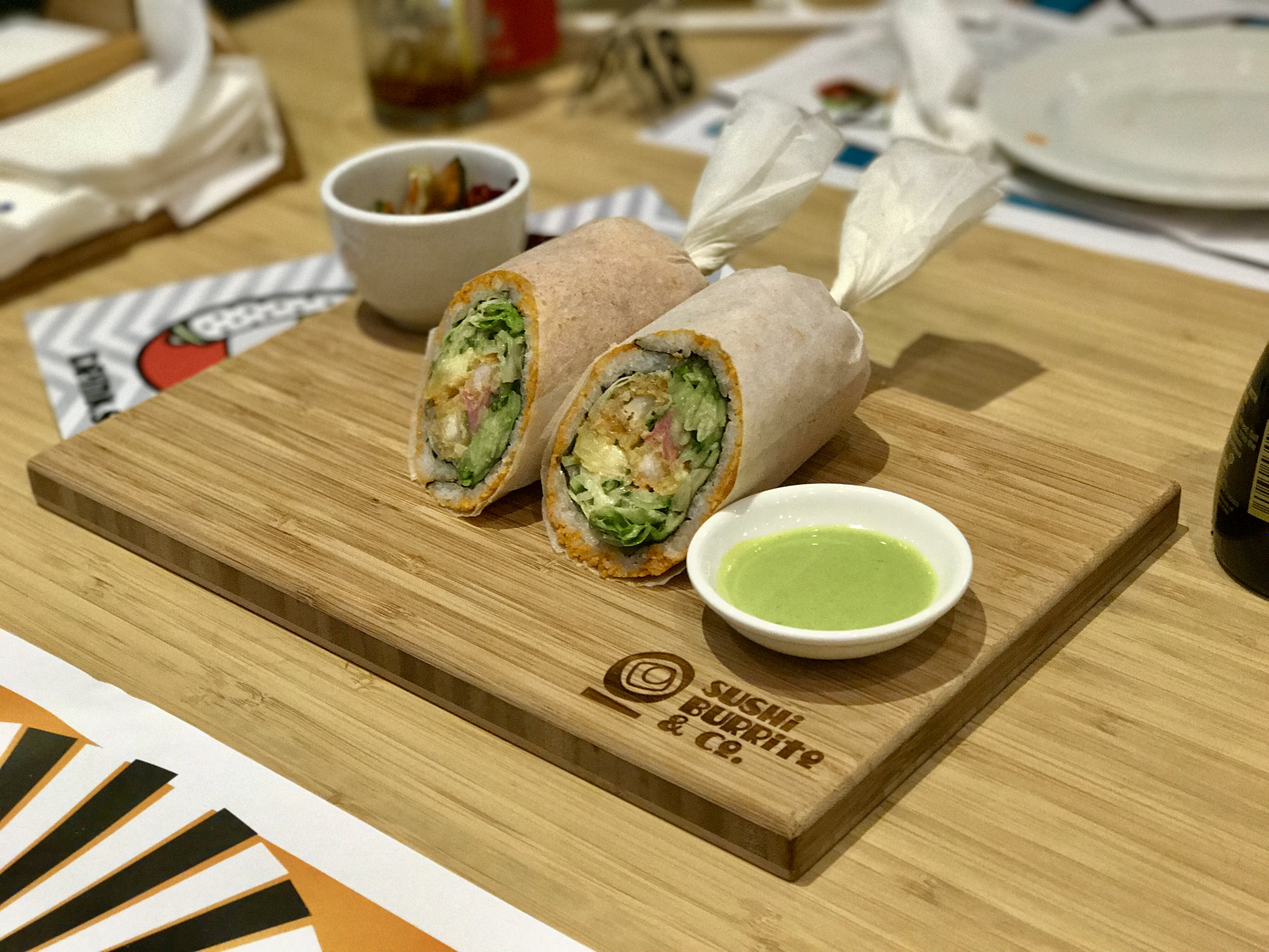 Sushi Burrito & Co. is a new concept restaurant for sushi lovers
