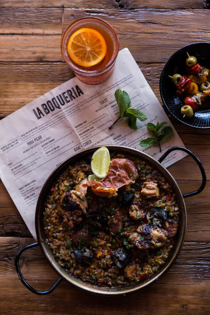 La Boqueria offers Spanish style tapas and small plates